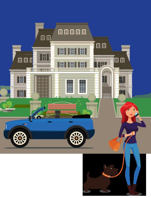 personal insurance scene