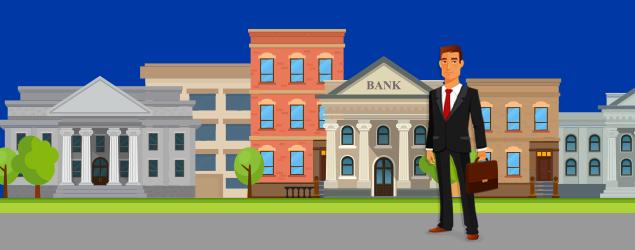 business insurance scene